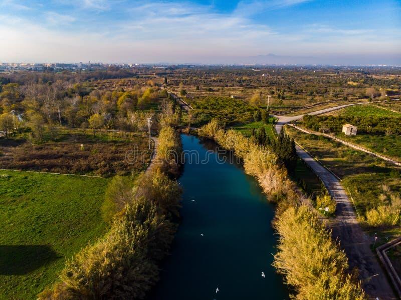 Θρόμβος EL Ποταμός Burriana r στοκ φωτογραφία με δικαίωμα ελεύθερης χρήσης