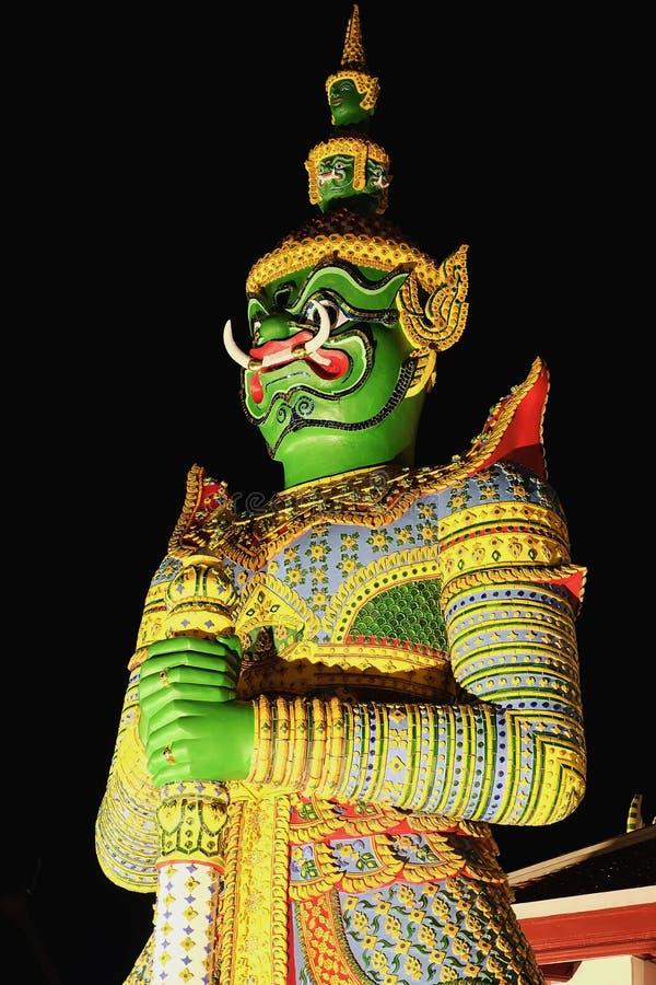 Θυρωρός Ravana στοκ εικόνες