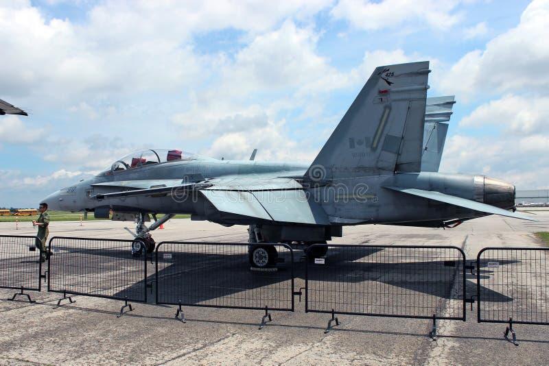ΘΦ 18 Hornet στοκ εικόνα