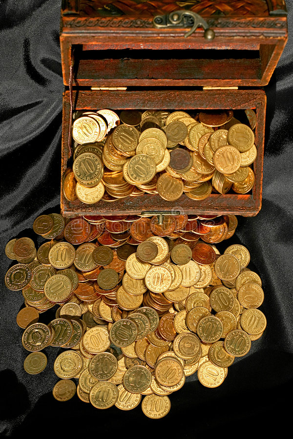 θωρακικά χρήματα στοκ εικόνα με δικαίωμα ελεύθερης χρήσης