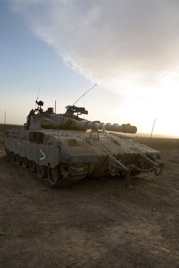 θωρακισμένη δεξαμενή merkava στρατού corp ισραηλινή στοκ εικόνα με δικαίωμα ελεύθερης χρήσης