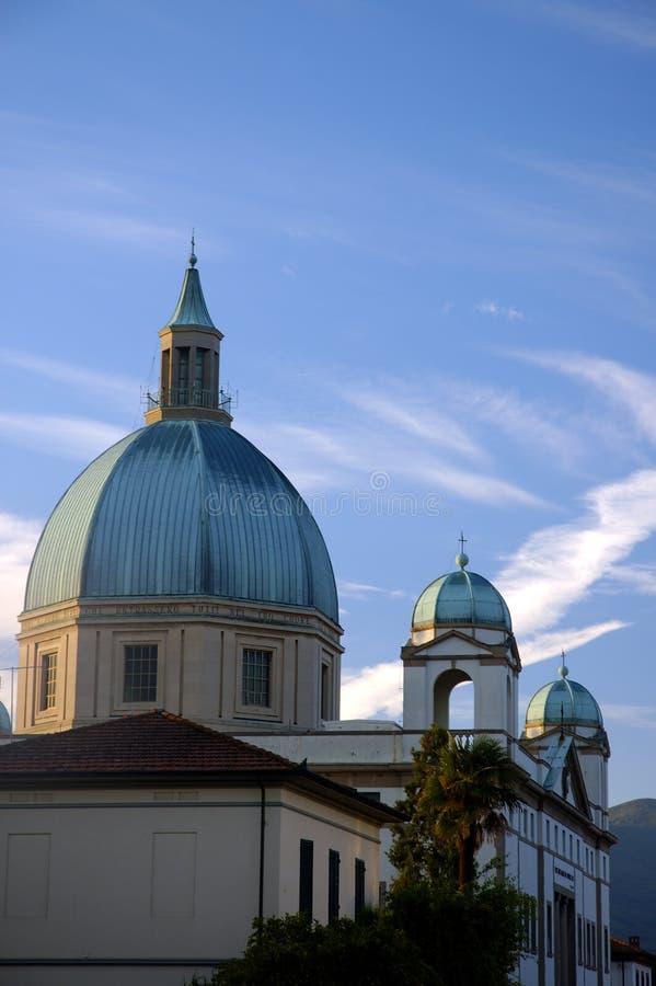 θόλοι εκκλησιών Στοκ φωτογραφία με δικαίωμα ελεύθερης χρήσης