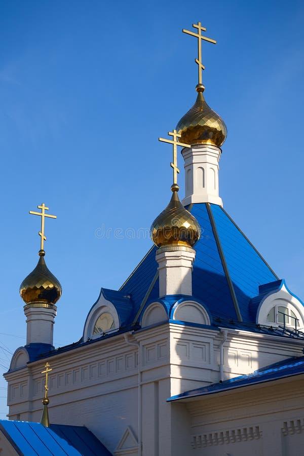 Θόλοι της Ορθόδοξης Εκκλησίας στοκ φωτογραφίες