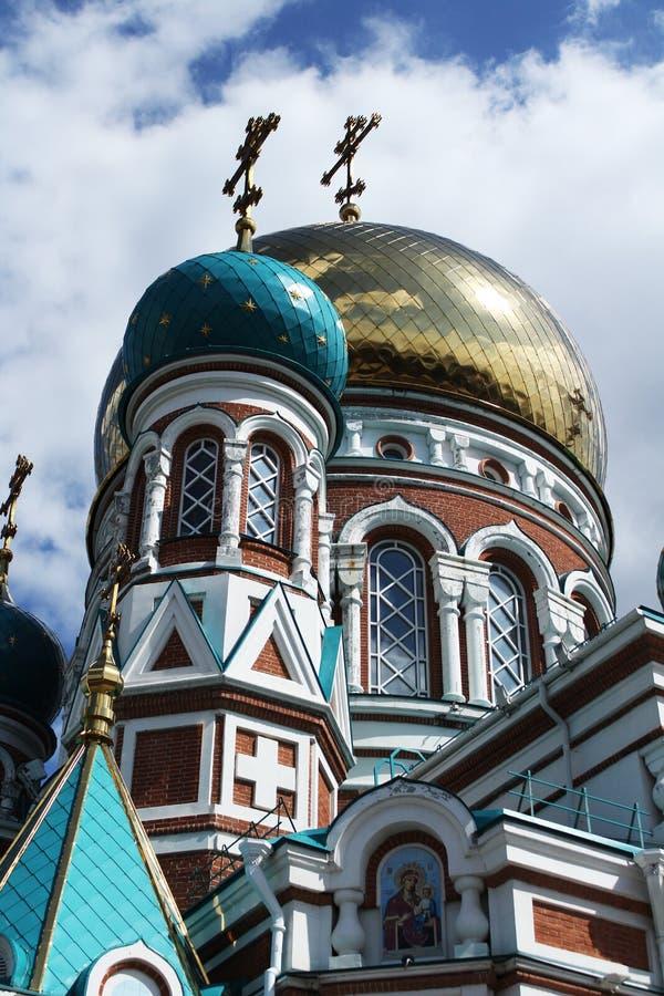 Θόλοι του καθεδρικού ναού στοκ εικόνες με δικαίωμα ελεύθερης χρήσης