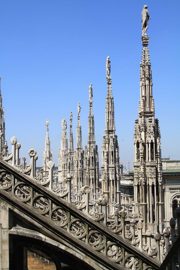 θόλος Ιταλία Μιλάνο στοκ φωτογραφία με δικαίωμα ελεύθερης χρήσης