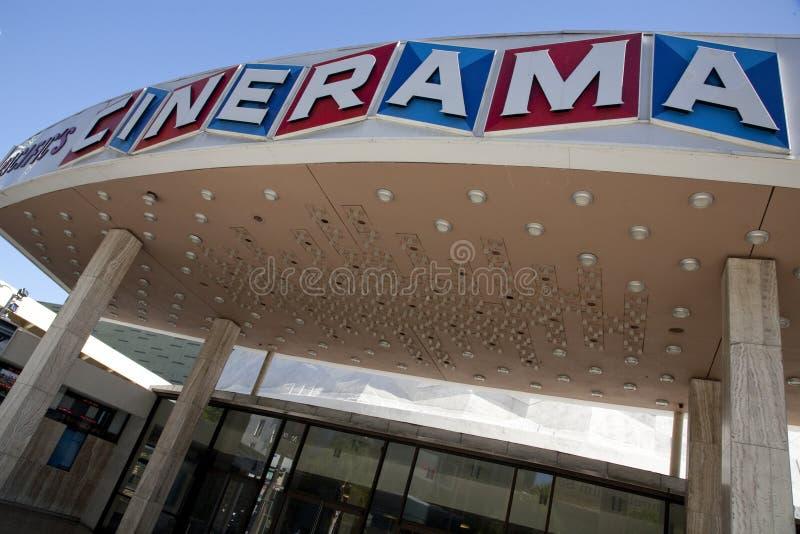 Θόλος Cinerama στοκ εικόνα με δικαίωμα ελεύθερης χρήσης
