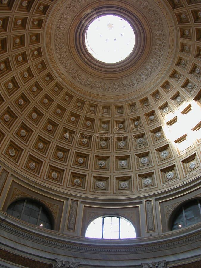 θόλος pantheon στοκ εικόνα με δικαίωμα ελεύθερης χρήσης
