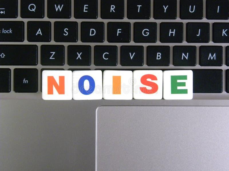 Θόρυβος λέξης στο υπόβαθρο πληκτρολογίων στοκ φωτογραφίες με δικαίωμα ελεύθερης χρήσης