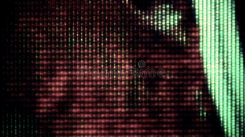 Θόρυβος 0735 TV στοκ εικόνες