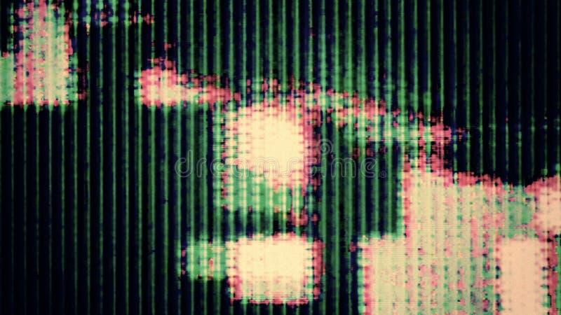 Θόρυβος 0736 TV στοκ εικόνες