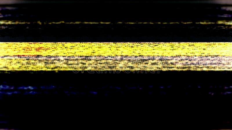 Θόρυβος 0737 TV στοκ εικόνες με δικαίωμα ελεύθερης χρήσης