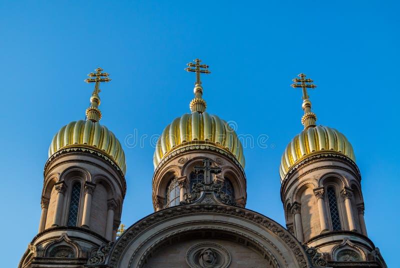 Θόλοι εκκλησιών στοκ εικόνα