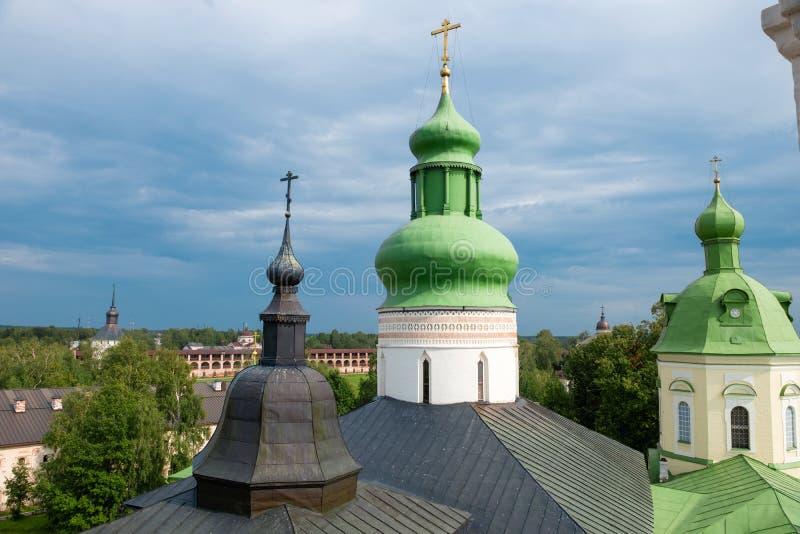 Θόλοι της εκκλησίας του ST Cyril στοκ εικόνα με δικαίωμα ελεύθερης χρήσης