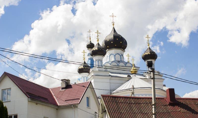 Θόλοι της εκκλησίας στοκ φωτογραφία με δικαίωμα ελεύθερης χρήσης