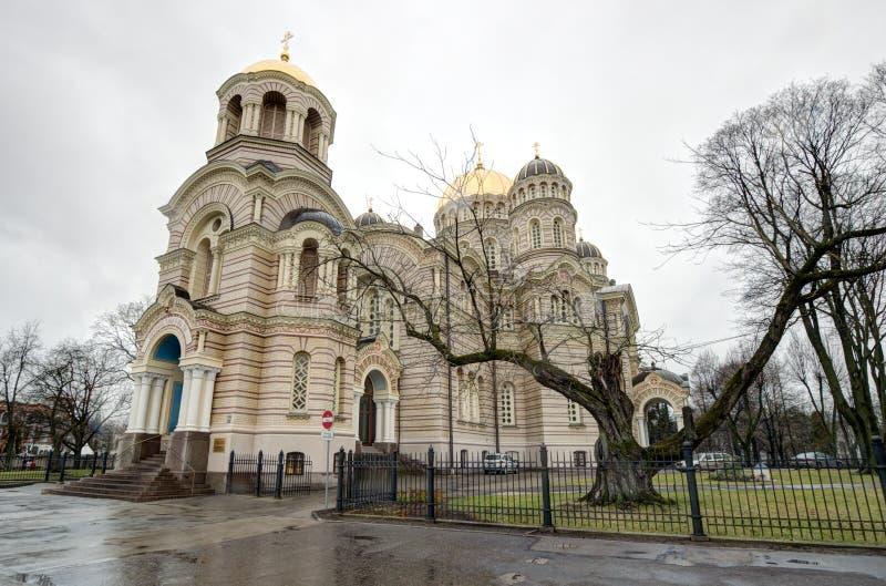 Θόλοι Nativity του καθεδρικού ναού Χριστού στοκ εικόνες
