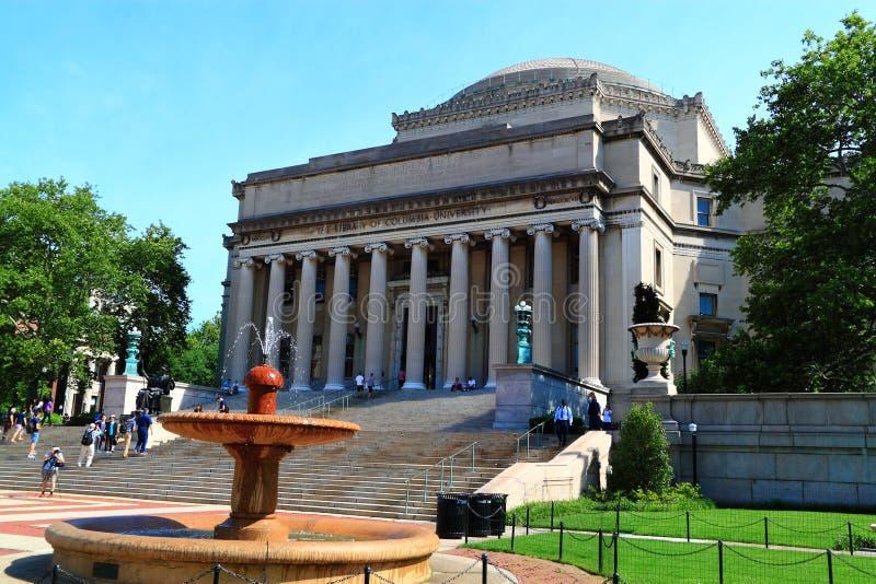 Θόλος βιβλιοθήκης Πανεπιστημίου της Κολούμπια στοκ εικόνα με δικαίωμα ελεύθερης χρήσης