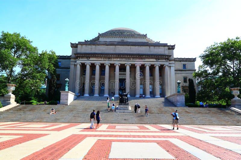 Θόλος βιβλιοθήκης Πανεπιστημίου της Κολούμπια στοκ εικόνα