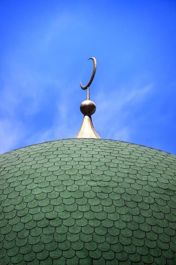 Θόλος ενός μουσουλμανικού μουσουλμανικού τεμένους στοκ φωτογραφία με δικαίωμα ελεύθερης χρήσης