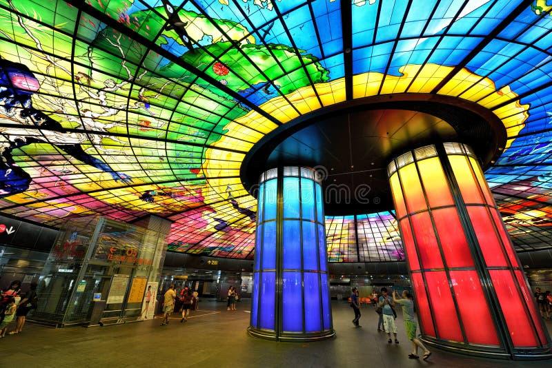 Θόλος του φωτός, Kaohsiung στοκ εικόνες