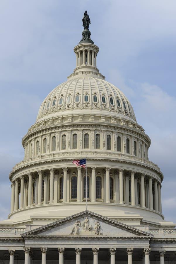 Θόλος του Washington DC Capitol στοκ φωτογραφία με δικαίωμα ελεύθερης χρήσης