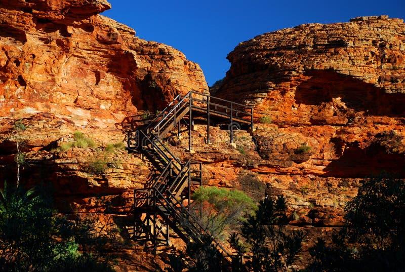 Θόλος φαραγγιών βασιλιάδων. Εθνικό πάρκο Watarrka, Βόρεια Περιοχή, Αυστραλία στοκ εικόνες με δικαίωμα ελεύθερης χρήσης