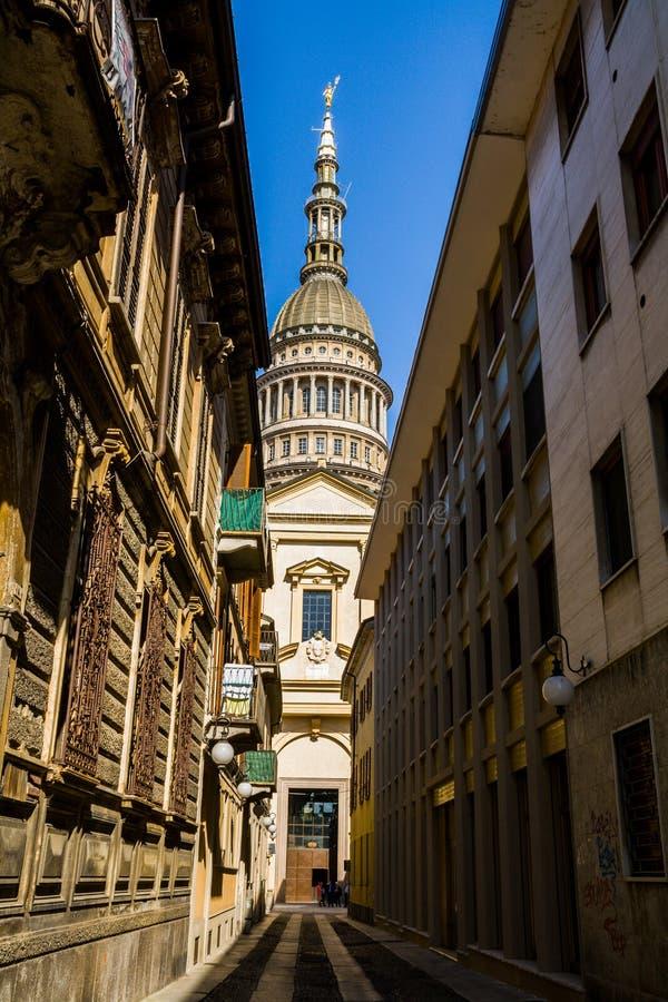 Θόλος Novara στοκ φωτογραφία με δικαίωμα ελεύθερης χρήσης