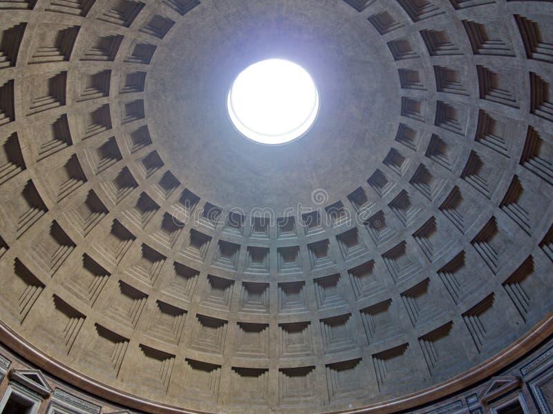Θόλος Pantheon στοκ φωτογραφία με δικαίωμα ελεύθερης χρήσης