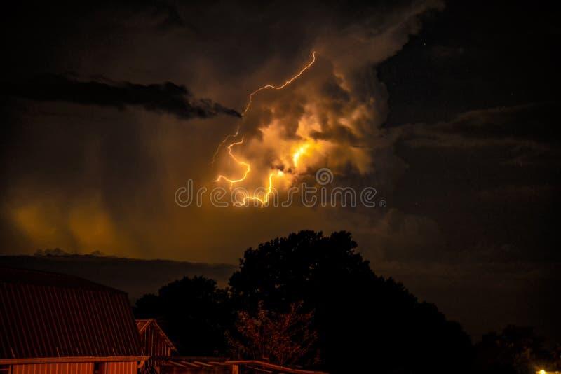 Θύελλα αστραπής στοκ εικόνες με δικαίωμα ελεύθερης χρήσης