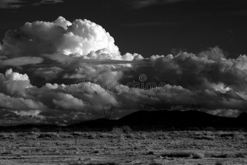 θύελλα ερήμων στοκ εικόνα