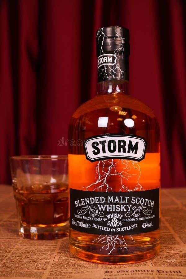 Θύελλα - συνδυασμένο σκωτσέζικο ουίσκυ βύνης στοκ φωτογραφία με δικαίωμα ελεύθερης χρήσης