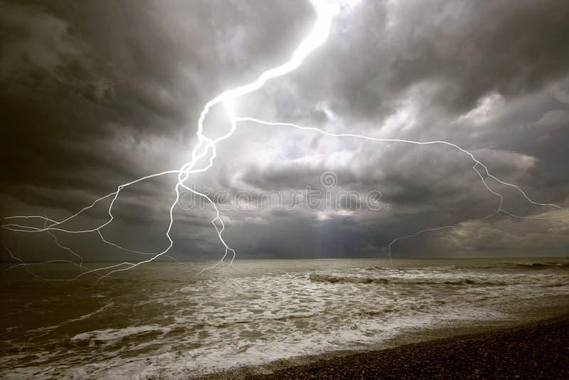 θύελλα φωτισμού στοκ εικόνες με δικαίωμα ελεύθερης χρήσης