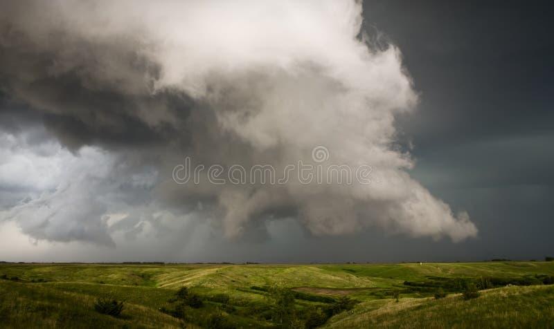 Θύελλα βροντής της νότιας Ντακότας στοκ φωτογραφία