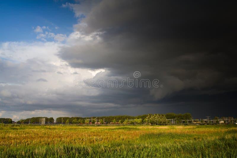 θύελλα προσέγγισης στοκ εικόνες
