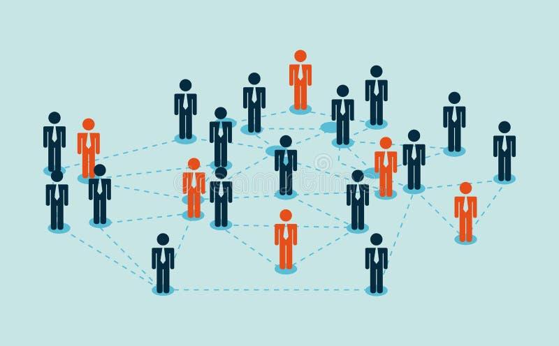 διάνυσμα ανθρώπων επιχειρησιακής απεικόνισης jpg διανυσματική απεικόνιση