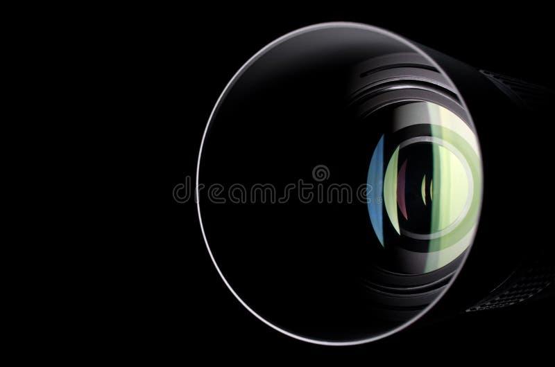 διάνυσμα ουράνιων τόξων φακών απεικόνισης επίδρασης eps10 φωτογραφικών μηχανών στοκ εικόνες