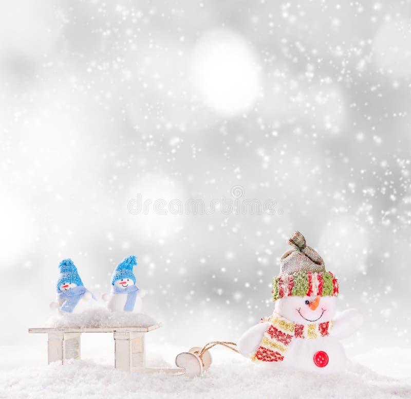 Download διάνυσμα χιονανθρώπων απεικόνισης Χριστουγέννων ανασκόπησης Απεικόνιση αποθεμάτων - εικονογραφία από διακοπές, πάγωμα: 62705709