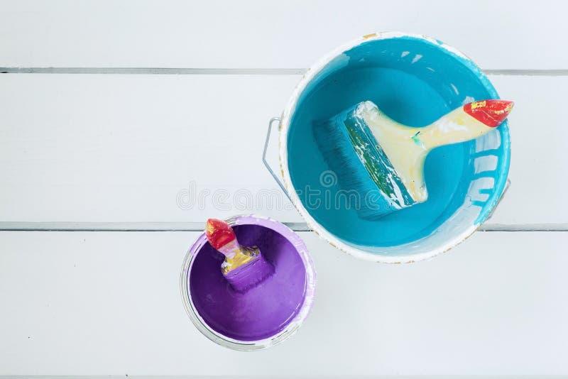 διάνυσμα χρωμάτων απεικόνισης δοχείων στοκ φωτογραφία