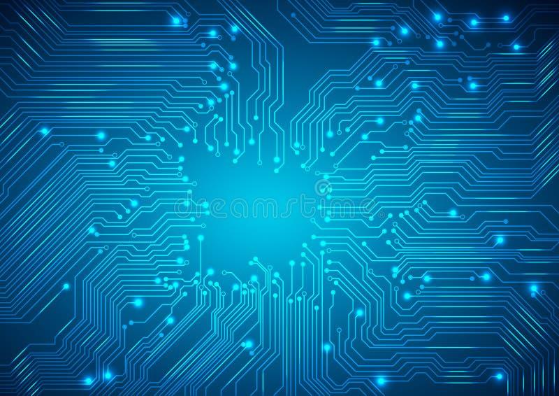 διάνυσμα Ψηφιακό αφηρημένο υπόβαθρο τεχνολογιών διανυσματική απεικόνιση
