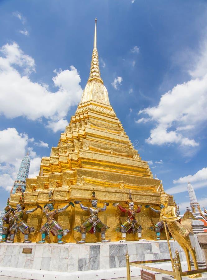 διάσημος ναός της Μπανγκόκ στοκ εικόνες με δικαίωμα ελεύθερης χρήσης