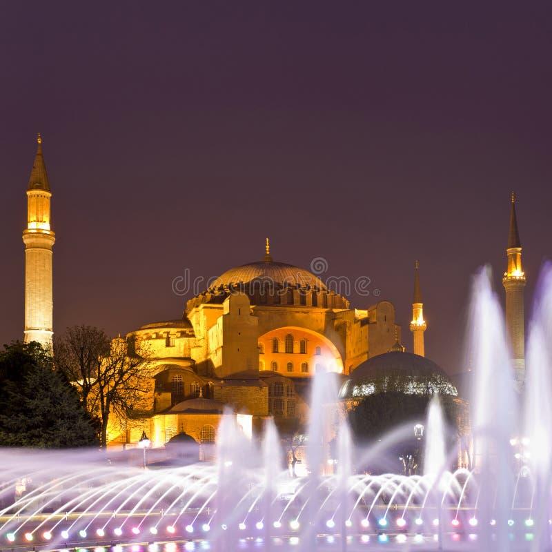 διάσημο sophia της Κωνσταντινούπολης hagia Ιστανμπούλ, Τουρκία στοκ εικόνες με δικαίωμα ελεύθερης χρήσης