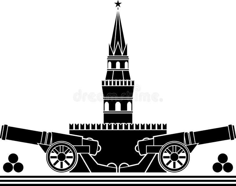 διάτρητο του ρωσικού Κρεμλίνου απεικόνιση αποθεμάτων