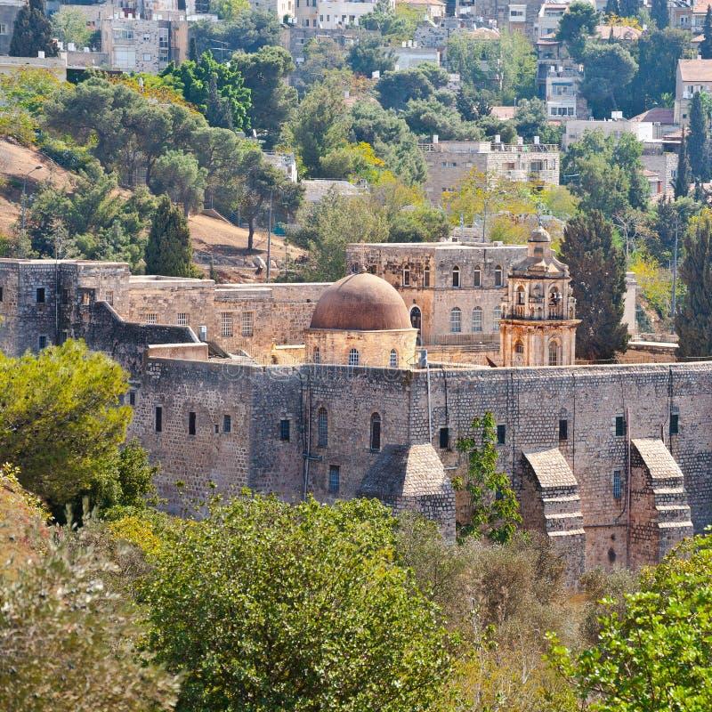 διαγώνιο μοναστήρι της Ι&epsilo στοκ εικόνα