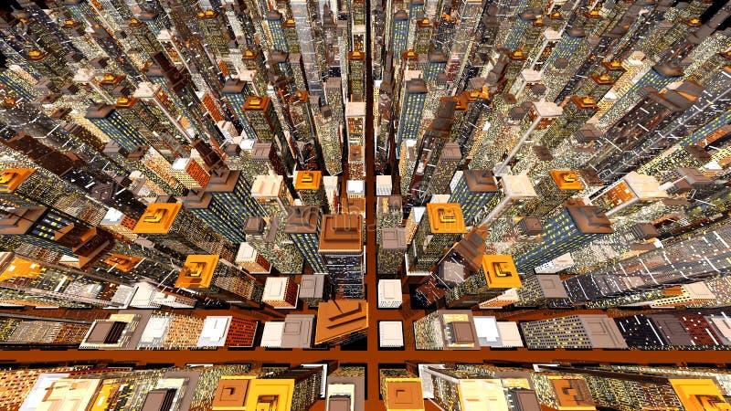 διαθέσιμο μεγάλο διάνυσμα εικονιδίων πόλεων απεικόνιση αποθεμάτων