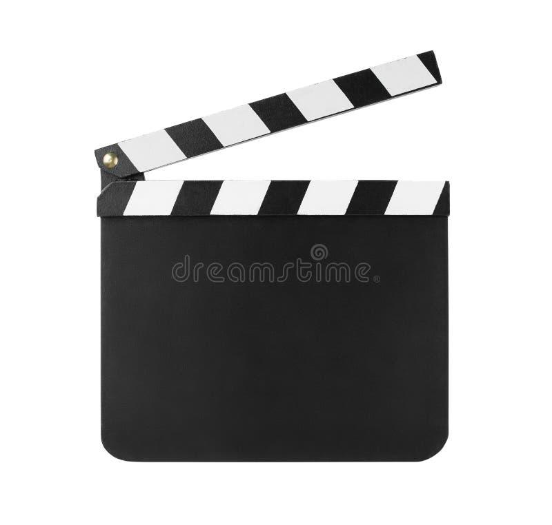 διαθέσιμο clapboard eps απομόνωσε το λευκό στοκ εικόνα με δικαίωμα ελεύθερης χρήσης