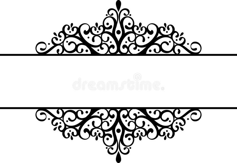 διακοσμητικό σύντομο χρ&omicron διανυσματική απεικόνιση