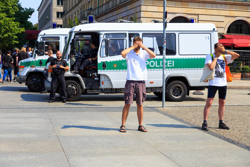 διαμαρτυρία σιωπηλή στοκ φωτογραφίες