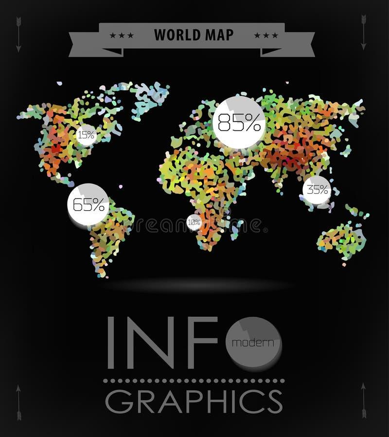 διανυσματικός άσπρος κόσμος χαρτών ανασκόπησης απομονωμένος απεικόνιση ελεύθερη απεικόνιση δικαιώματος