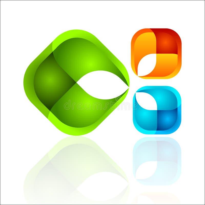 διανυσματικός Ιστός λογότυπων σφαιρών ελεύθερη απεικόνιση δικαιώματος