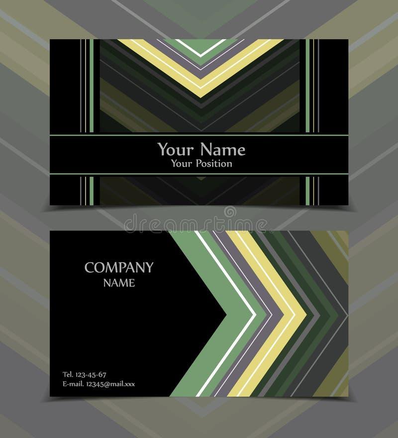 διανυσματικός κόσμος χαρτών κώδικα επαγγελματικών καρτών ανασκόπησης δυαδικός διανυσματική απεικόνιση