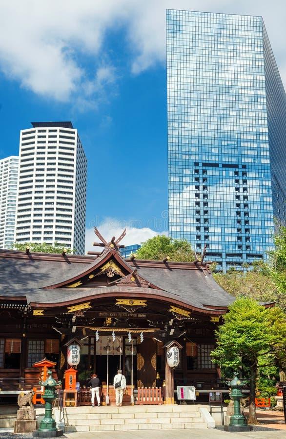 Ιαπωνία μεταξύ της παράδοσης και του νεωτερισμού στοκ φωτογραφία